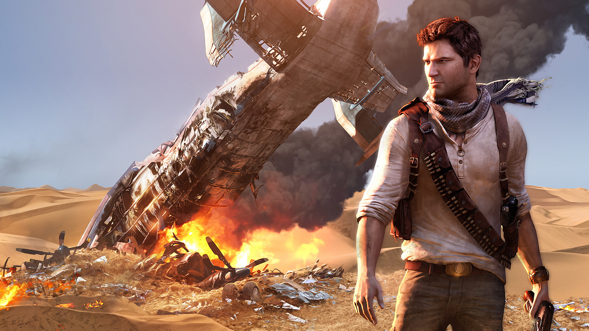 Tom Holland dans le rôle de Nathan Drake — Uncharted
