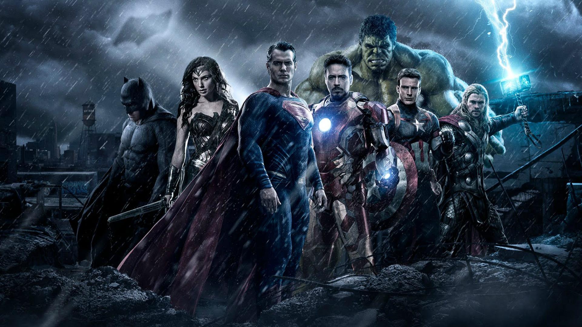 avengers vs dc