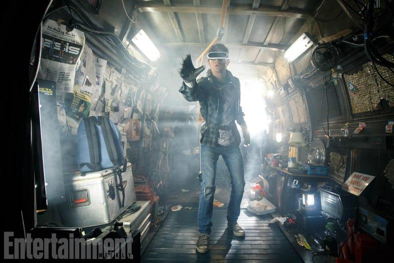 1ere image du nouveau Steven Spielberg — READY PLAYER ONE