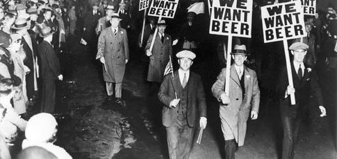 Petite histoire de la prohibition américaine