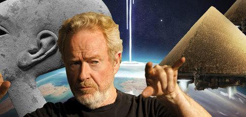 Ridley Scott, Alien et les anciens astronautes