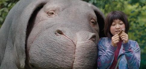 Okja c'est comme du Spielberg vicieux qui va te faire arrêter la viande