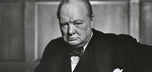 Winston Churchill, animal politique et torturé, face à l'histoire