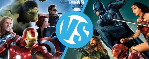 Marvel vs DC : Infinity War ?