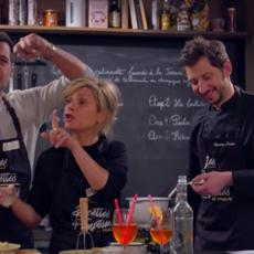 Laurent Lafitte et Marina Foïs bien déboités dans Les Recettes Pompettes