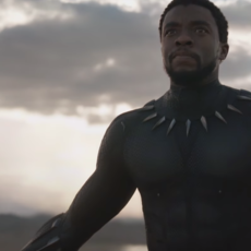 Premier teaser pour Black Panther, et il a pas l'air de faire semblant