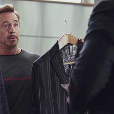 Spider-Man et Tony Stark se préparent pour les finales de NBA