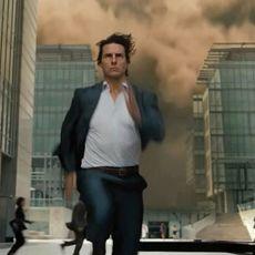 20 minutes de Tom Cruise qui court, comme ça, cadeau.