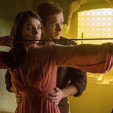 """Premières images du nouveau """"Robin des Bois"""" avec Taron Egerton dans le rôle du prince des voleurs"""
