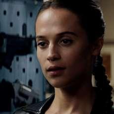 """Nouvelles images d'Alicia Vikander dans le reboot de """"Tomb Raider"""""""