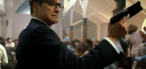 7 - Comme le nombre de jours nécessaires au tournage de la séquence de l'église du film Kingsman