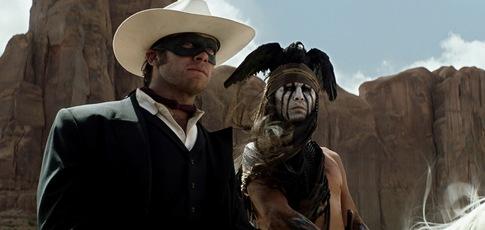 50 - Comme le pourcentage sur toutes les images de Lone Ranger, Naissance d'un héros de prises de vues réelles