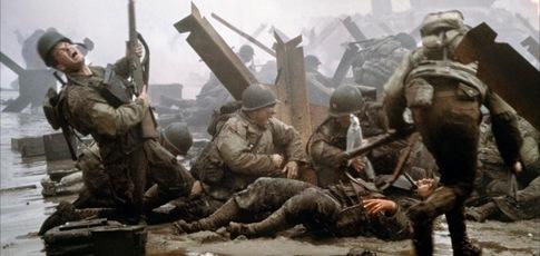 """12 - Comme le montant en millions de dollars, du coût de la scène du débarquement à Omaha Beach dans """"Il faut sauver le soldat Ryan"""" de Steven Spielberg"""