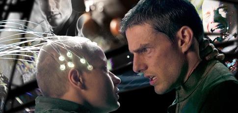"""2054 - Comme l'année où se déroule l'action de """"Minority Report"""" de Steven Spielberg avec Tom Cruise et Colin Farrell"""