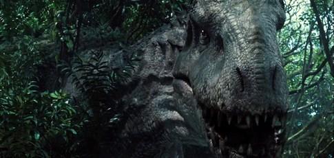 """12 - Comme la taille, en mètres, de l'Indominus Rex dans """"Jurassic World"""" de Colin Trevorrow avec Chris Pratt et Bryce Dallas Howard"""