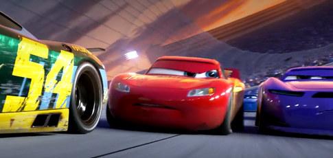 """17  - Comme le nombre de jours nécessaires à l'animation d'une seconde du film """"Cars"""" de John Lasseter et Joe Ranft des studios Pixar et Disney"""