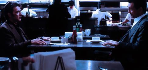 """1995 - Comme l'année de sortie de """"Heat"""" réalisé par Michael Mann avec Robert De Niro et Al Pacino"""