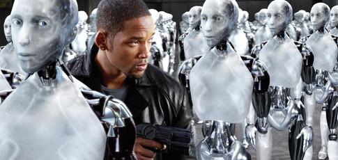 """3 - Comme les 3 Lois de la Robotique qui régissent l'univers d'""""I, robot"""" réalisé par Alex Proyas, avec Will Smith"""