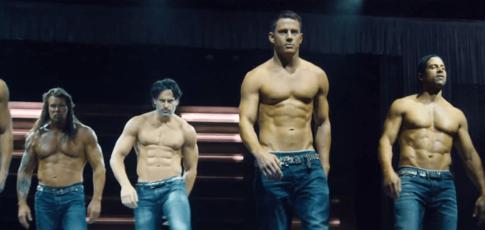 """73 - Comme la part du public représentée par les femmes à avoir vu en salles """"Magic Mike"""" avec Channing Tatum et Matthew McConaughey"""