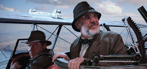"""500  - Comme les recettes au box-office mondial d'""""Indiana Jones et la Dernière Croisade"""" de Steven Spielberg, avec Harrison Ford et Sean Connery"""