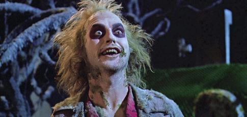 """1988 - Comme l'année de sortie de """"Beetlejuice"""" de  Tim Burton avec Michael Keaton et Winona Ryder"""