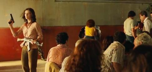 """1976  - Comme l'année du raid d'Entebbe, opération de libération d'otages adaptée au cinéma dans """"7 Days in Entebbe"""" avec Rosamund Pike et Daniel Brühl"""