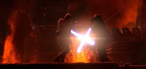 """12 - Comme la durée, en minutes, du duel opposant Obi-Wan Kenobi et Anakin Skywalker dans """"Star Wars, épisode III : La Revanche des Sith"""" de George Lucas"""