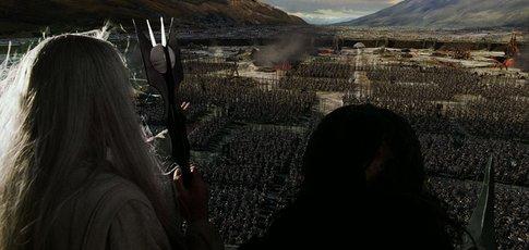"""4 - Comme le nombre de mois nécessaires au tournage de la bataille du Gouffre de Helm dans """"Le Seigneur des anneaux : Les Deux Tours"""" de Peter Jackson"""