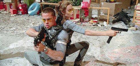 """2005 - comme l'année de sortie de """"Mr. et Mrs. Smith"""" avec Brad Pitt et Angelina Jolie"""