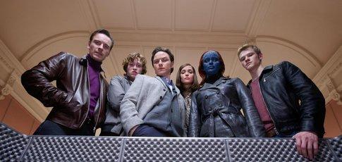 """2011 - Comme l'année de sortie de """"X-Men : Le Commencement"""" avec James McAvoy, Michael Fassbender et Jennifer Lawrence"""