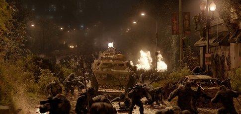 """2014 - Comme l'année de sortie de """"La Planète des singes : L'Affrontement"""" avec Andy Serkis, Jason Clarke et Gary Oldman"""