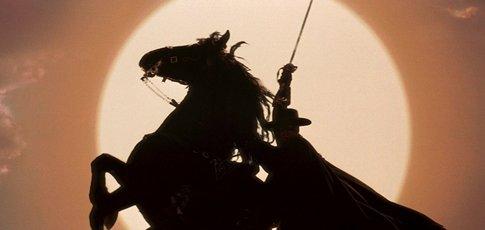 """1998 - comme l'année de sortie du """"Masque de Zorro"""" avec Antonio Banderas, Anthony Hopkins et Catherine Zeta-Jones"""