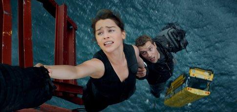 """2015 - Comme l'année de sortie de """"Terminator Genisys"""" avec Arnold Schwarzenegger et Emilia Clarke"""