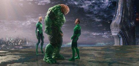 """2011 - comme l'année de sortie de """"Green Lantern"""" avec Ryan Reynolds et Blake Lively"""