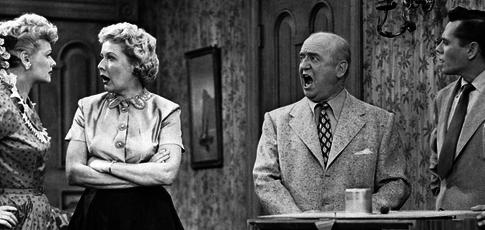"""1951 - Comme l'année de programmation de """"I Love Lucy"""" une des plus vielles et plus populaire sitcom américaine"""