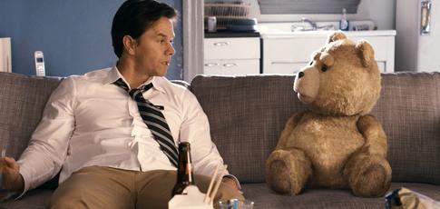 45  - Comme le nombre de prénoms féminins que balance, en un temps recors, Mark Wahlberg dans le film TED (2012)
