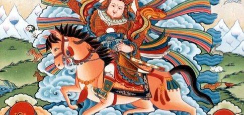 """1 - Comme le nombre, en million, de vers que contient le poème tibétain """"L'épopée du roi Guésar"""", faisant d'elle l'œuvre littéraire la plus longue dans le monde"""